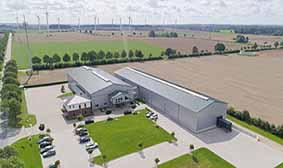 Bürogebäude, Produktions- und Lagerhallen der ThoMar OHG